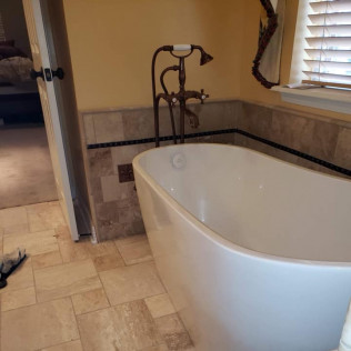 Faucet and Tub Install Haughton, LA
