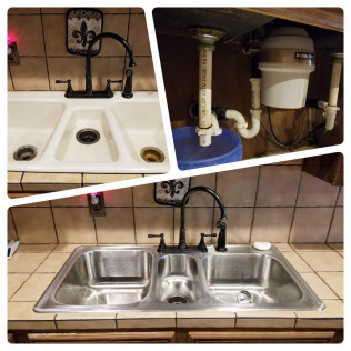 Sink Installation Haughton, LA